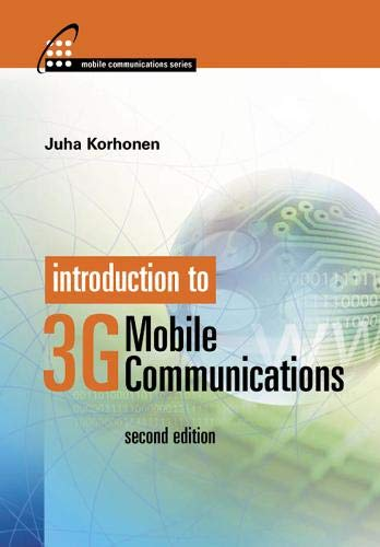 9781580535076: Introduction to 3G Mobile Communications 2nd edition (Mobile Communications Library)