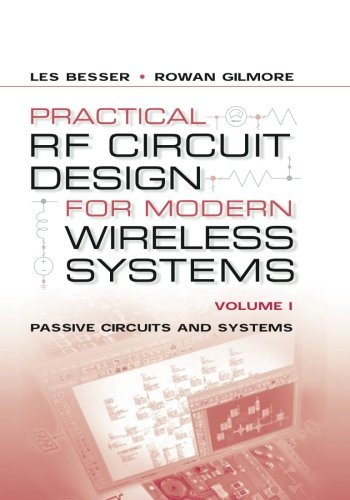 9781580535212: Practical RF Circuit Design for Modern Wireless Systems, Volume I : Passive Circuits and Systems