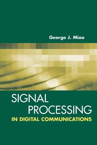 9781580536677: Signal Processing for Digital Communications (Artech House Signal Processing Library)