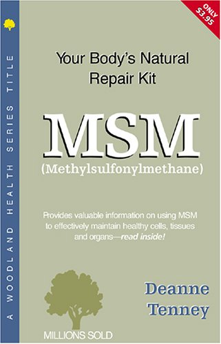 9781580540261: MSM: Methylsulfonylmethane (Woodland Health)