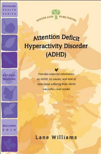 9781580540353: ADHD (Attention Deficit Hyperactivity Disorder) (Woodland Health Ser)