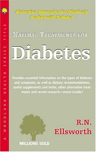 9781580540834: Natural Treatments for Diabetes (Woodland Health)