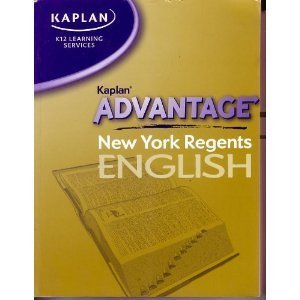9781580591928: Kaplan Advantage New York Regents English