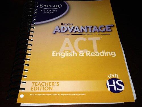 Kaplan Advantage, ACT, K12, English & Reading,: Services, Kaplan K12