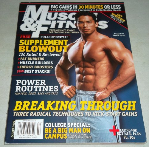 9781580602990: Muscle & Fitness, October 2006 Issue