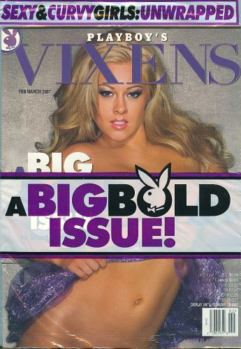 9781580604215: Playboy's Vixens, February 2007 Issue
