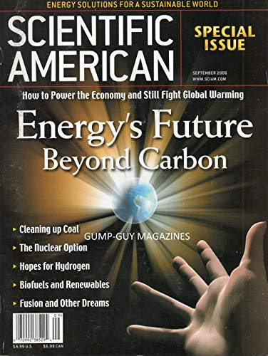9781580605540: Scientific American, September 2006 Special Issue