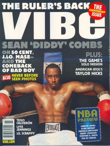 9781580605946: Vibe, November 2006 Issue