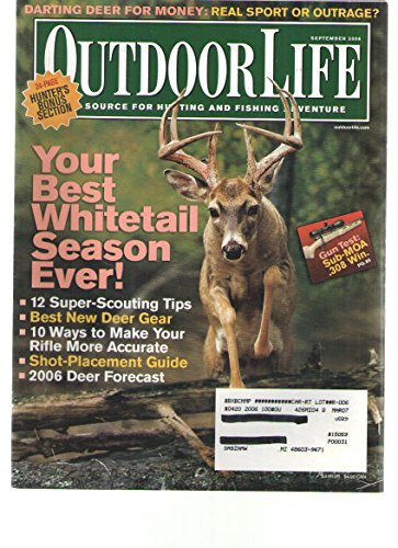 Outdoor Life, September 2006 Issue (1580608418) by Editors of Outdoor Life