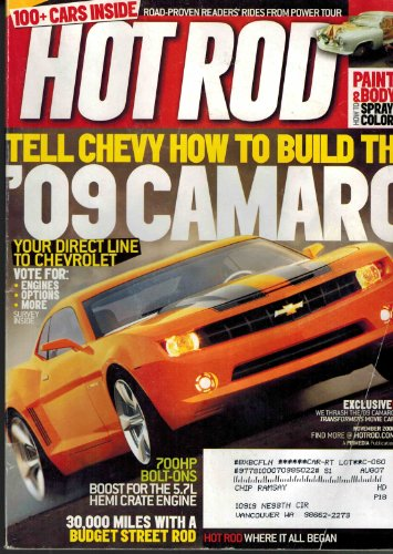 9781580609708: Hot Rod, November 2006 Issue