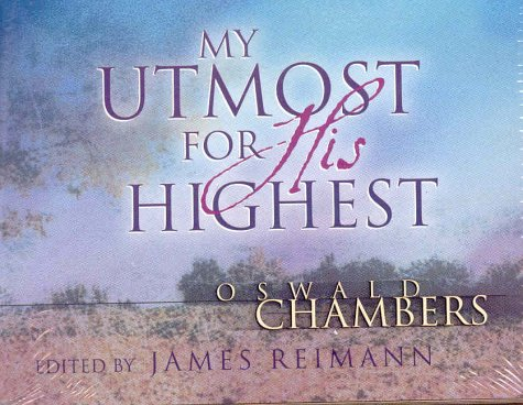 My Utmost for His Highest (spiral flip calendar) (9781580612562) by Oswald Chambers