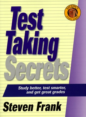 9781580620277: Backpack Series-Test Taking Secrets (The Backpack Study Series)