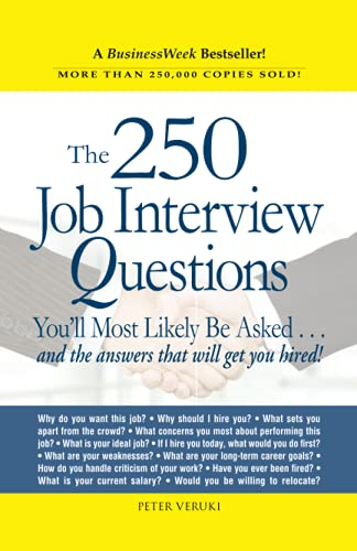 9781580621175: The 250 Job Interview Questions You'll Most Likely Be Asked