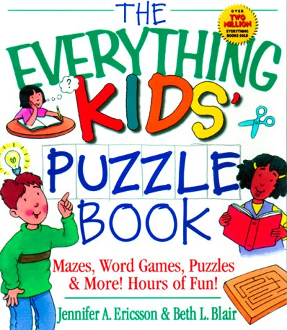 9781580623230: The Everything Kids' Puzzle Book (Everything Kids Series)