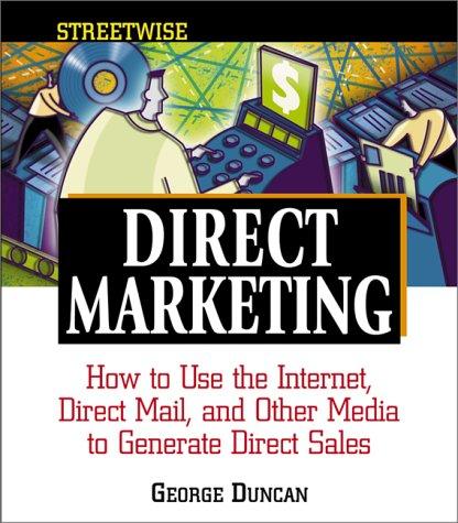 9781580624398: Streetwise Direct Marketing (Adams Streetwise Series)