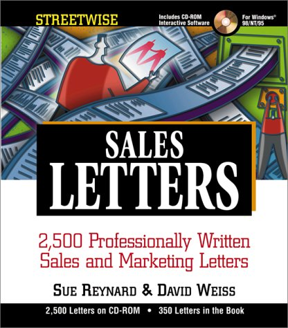 Streetwise Sales Letters W/Cd (Adams Streetwise Series) (1580624405) by Sue Reynard