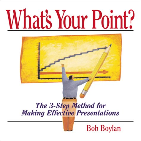 9781580624602: What's Your Point?: The 3-step Method for Making Effective Presentations