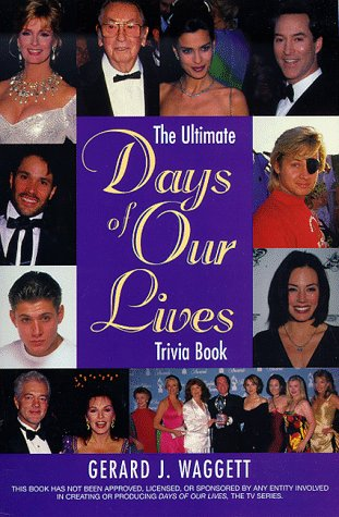 9781580630498: Ultimate Days of Our Lives Trivia Book