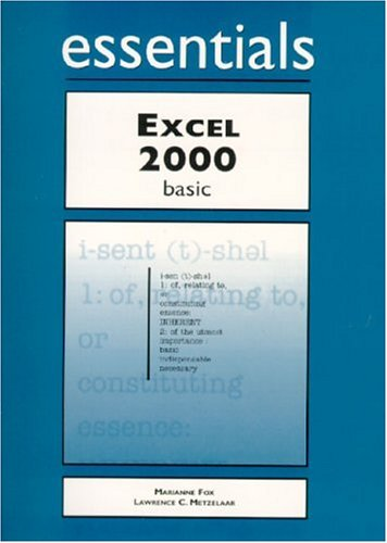 9781580760935: Excel 2000 Essentials Basic (Essentials Series for Office 2000)