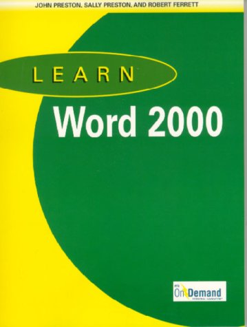 9781580762625: Learn Word 2000