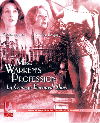 immoral men in mrs warrens proffession