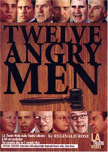 9781580813402: Twelve Angry Men (Library Edition Audio CDs)