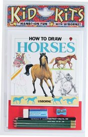 9781580863599: How to Draw Horses Kid Kit (Kid Kits)