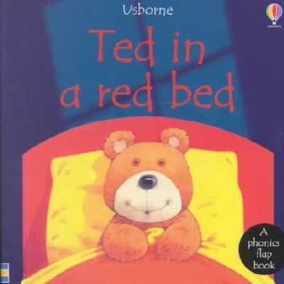 9781580864046: Ted in a Red Bed (Usborne Kid Kits)