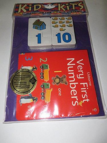9781580864411: Very First Numbers (Usborne Kid Kits)