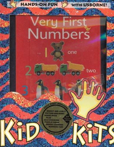 9781580864480: Very First Numbers Kid Kit (Usborne Kid Kits)