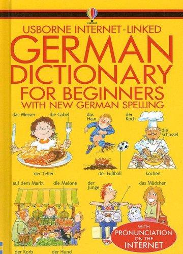 German Dictionary for Beginners (Usborne Internet-Linked Dictionary) (German Edition): Davies, ...