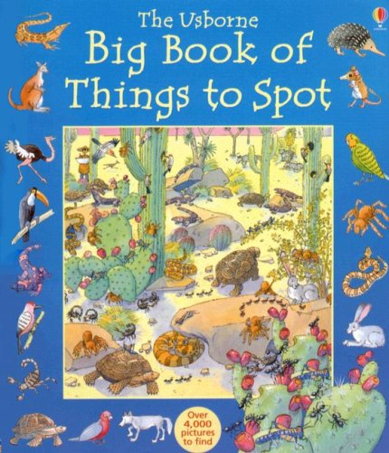 9781580864961: The Usborne Big Book of Things to Spot (1001 Things to Spot)