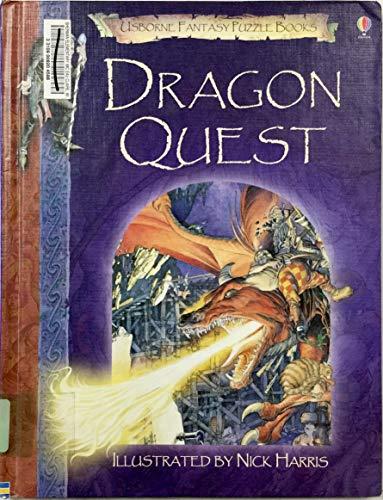 9781580868518: Dragon Quest (Usborne Fantasy Puzzle Books)