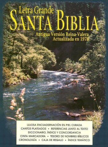 9781580870498: Large Print Bible-OS (Spanish Edition)