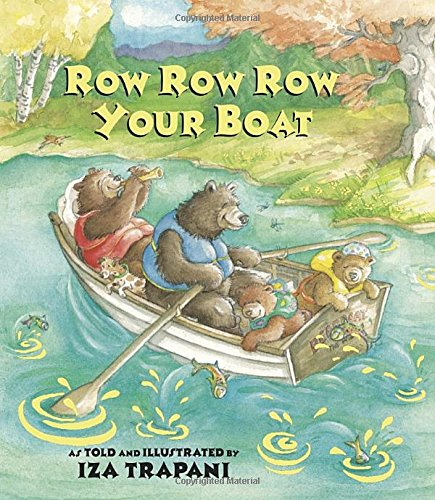 Row Row Row Your Boat (9781580890229) by Iza Trapani