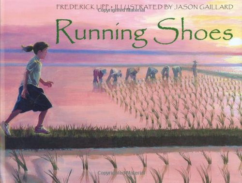 Running Shoes 9781580891752 Sophy's secret wish is to be able to go the school one day. But Sophy and her mother live in a poor village in Camboida where there is no doctor, no hospital, and no school. When Sophy receives a pair of running shoes, her life changes forever.