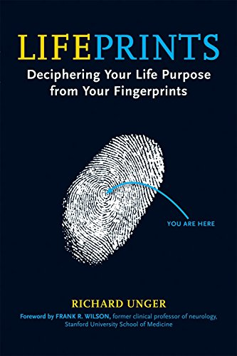9781580911856: Lifeprints: Dicerphering Your Life Purpose in Your Fingerprints