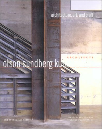 9781580930826: Olson Sundberg Kundig Allen Architects: Architecture, Art, and Craft