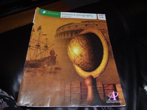 9781580951869: History and Geography: Anthropology and Sociology of the United States, Unit 6 (Lifepac History & Geography Grade 7)