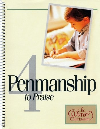9781580958721: Alpha Omega Publications WP 004 Penmanship to Praise, Grade 4