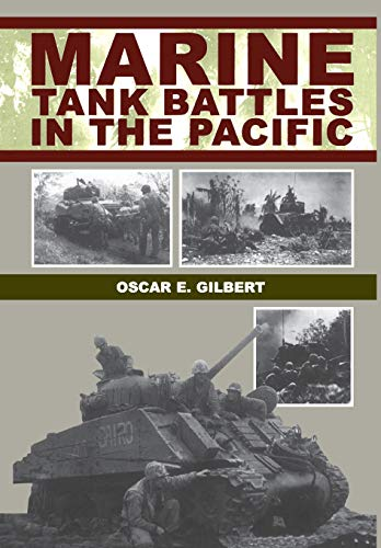 9781580970501: Marine Tank Battles in the Pacific