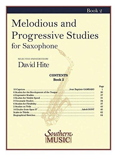 9781581060768: Melodious and Progressive Studies, Book 2: Saxophone