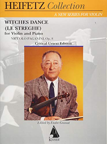 Witches Dance op.8 :for violin and piano: Nicol� Paganini