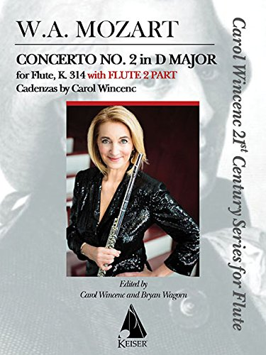 9781581060942: Concerto No. 2 in D Major for Flute, K. 314: With Flute 2 Part