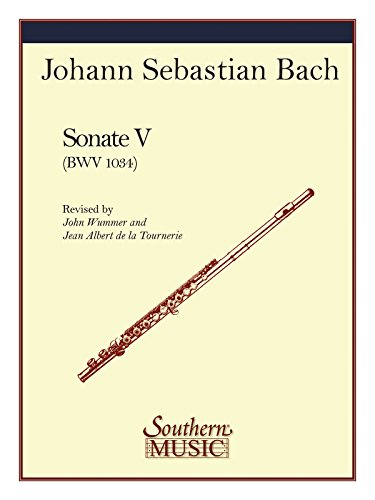 Sonata No, 5 in E Minor: Flute: Wummer, John