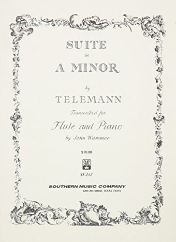 9781581062267: Suite In A Minor Flute And Piano