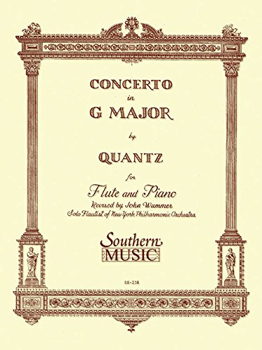 Concerto in G Major: Flute: Wummer, John