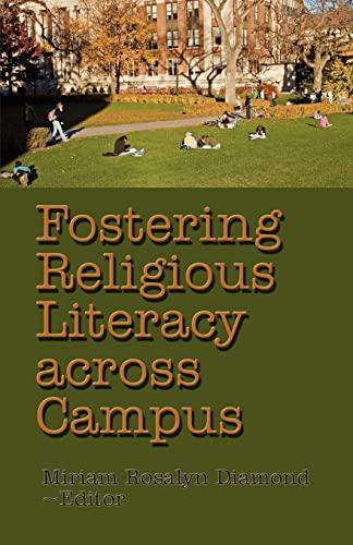 Fostering Religious Literacy across Campus: Diamond, Dr. Miriam Rosalyn