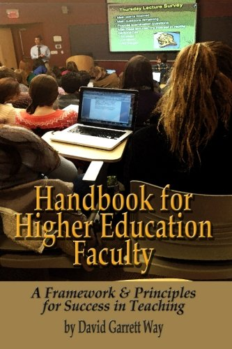 9781581072914: Handbook for Higher Education Faculty: A Framework & Principles for Success in Teaching