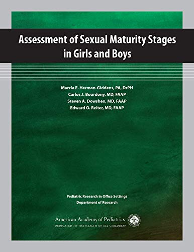 9781581104431: Assessment of Sexual Maturity Stages in Girls and Boys: Pediatric Research in Office Settings, Department of Research